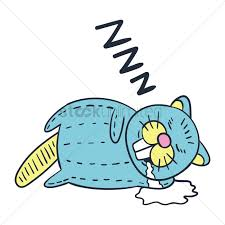 cartoon beaver sleeping vector image 1955694 stockunlimited