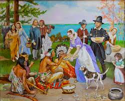 the thanksgiving 1621 painting by jan mecklenburg