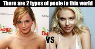 Meme Types - there are 2 types of people in this world meme collection