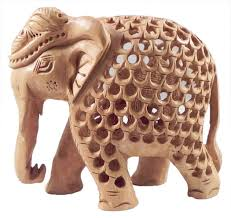Elephant Statue Wood Carved Elephant Within Elephant Statue 4 X 5 X 2 5 Inches