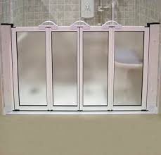 Half Shower Doors Half Height Shower Doors For Walk In Shower For Asisting In