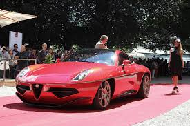 touring presented the first u0027production u0027 version of the alfa romeo