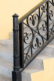 Iron Banisters And Railings 35 Wrought Iron Stair Railing Ideas Photo Gallery