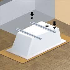 montaggio vasca da bagno come installare una vasca da bagno guide e tutorial leroymerlin
