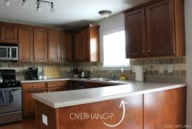 kitchen counter overhang for bar stools kitchen islands with