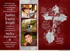 christian graduation announcements christian graduation thank you cards religious pairing