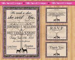 Camouflage Wedding Invitations 15 Best Wedding Invitations Images On Pinterest Camo Wedding