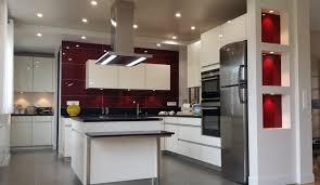 les cuisine cuisine moderne avec îlot modèle sensations