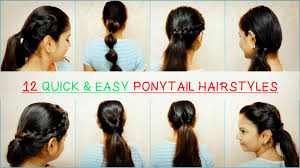 26 lazy hairstyling hacks 12 quick and easy hairstyle hacks to jazz up your ponytail