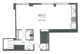 large one bedroom floor plans tower apartments
