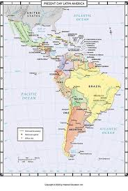 south america map atlas atlas map present day america