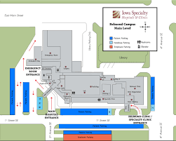 Medical Clinic Floor Plan by Iowa Specialty Hospital Belmond Iowa Specialty Hospital
