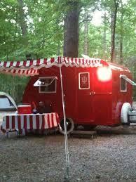 Vintage Travel Trailer Awnings 1408 Best Campers Retro Vintage Images On Pinterest