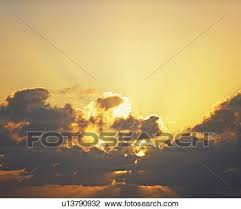 stock photo of sun shining through clouds u13790932 search stock