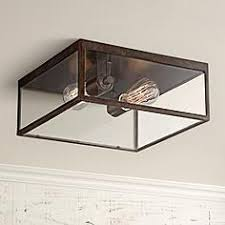 Flush Mount Square Ceiling Light Outdoor Flush Mount Lighting Fixtures For Patio Or Porch Ls