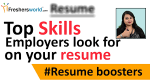 Resume Skills Top Skills That An Employer Look For On Your Resume U2013 Skills To Be