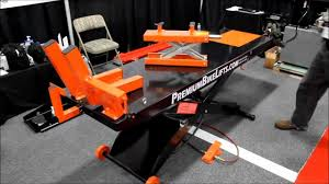 Motorcycle Lift Table by Air Operated Motorcycle Lifts By Premiumbikelifts Com Youtube