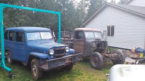 jeep willys wagon for sale 1953 u0027ish willys pickup build thread