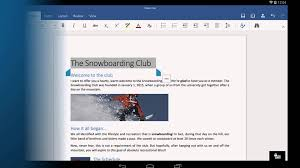 word for android word for android tablet getting started