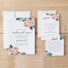 diy wedding invitation template design and print invitations at home fresh diy wedding invitation