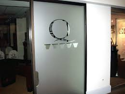 Bookcase With Frosted Glass Doors Office Design Office Doors With Glass Internal Office Fire Doors