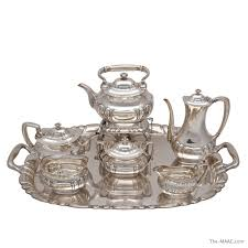 silver matching services co silver tea coffee service and matching tray