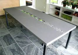 diy stainless steel table top diy cement table round hanging cement table the diy outdoor cement