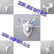 White Elephant Head Wall Mount Indoor Deer Statues Indoor Deer Statues Suppliers And