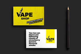 vape shop business card template for photoshop u0026 illustrator