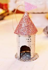 up cycled toilet paper birdhouse ornament hometalk