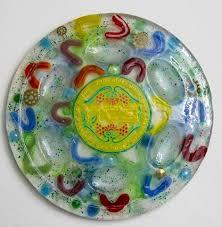 pesach seder plate decorative judaica plates crafted one of a judaica