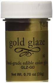 amazon com food grade edible color cake u0026 fondant glaze gold