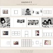 8 5 x 11 photo album snapshots no 3 by paislee press