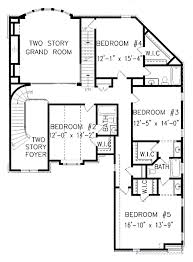 5 Story House Plans by European Style House Plan 5 Beds 4 50 Baths 4496 Sq Ft Plan 54 163