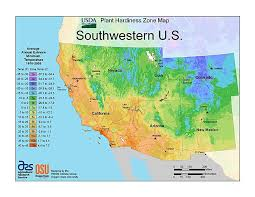 map zones plant hardiness zone map provided by usda image
