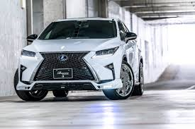 lexus rx450h tires size rowen gives the lexus rx f sport more visual drama