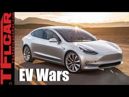 tesla model 3 vs chevy bolt vs nissan leaf which will win the