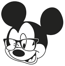 glasses clipart mickey mouse face clipart 87