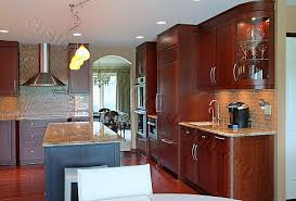 Contemporary Walnut Kitchen Cabinets - elegant custom modern kitchen cabinets kitchen modern walnut