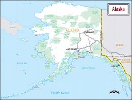 Show Me A Map Of Alaska by Maps Of The Usa The United States Of America Map Library