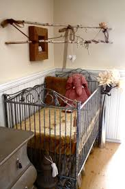 bedroom gorgeous wrought iron crib baby furniture for nursery