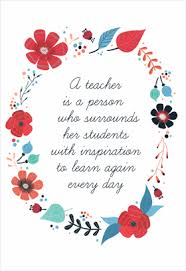 thank you cards for teachers inspired teaching printable card customize add text and photos