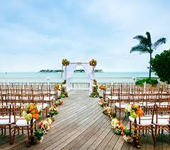 wedding venues in key west beachfront weddings in key west key resort spa