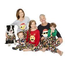 pole trading co merry textmas family pajamas jcpenney