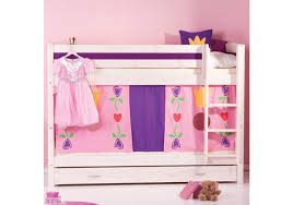 Bunk Beds Tent Gil Whitewash Bunk Bed With Play Tent Trundle