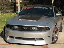 2012 ford mustang kits 2010 2012 mustang rk sports front bumper add on lip gt only