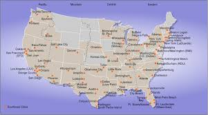 swa route map southwest airlines