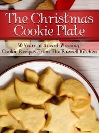 the christmas cookie plate 50 years of award winning cookie