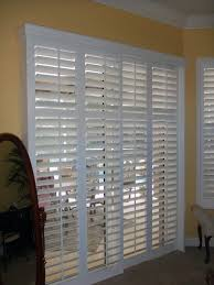 Sliding Shutters For Patio Doors Bypass Track Shutters Plantation For Sliding Glass Doors Cost