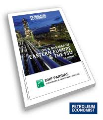 Map Of Eastern Europe by Oil And Gas Map Of Eastern Europe U0026 The Fsu Petroleum Economist